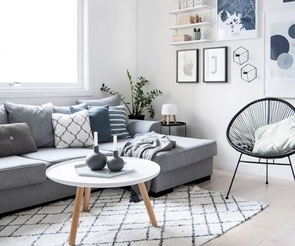 How to choose scandinavian decor pillows that will give - How to pick curtains for living room ...